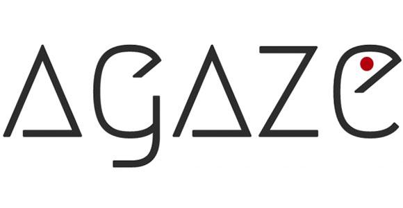 agaze